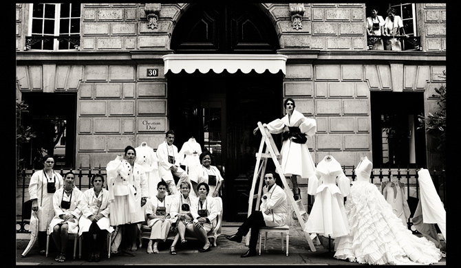 Фотовыставка Dior Couture by Patrick Demarchelier