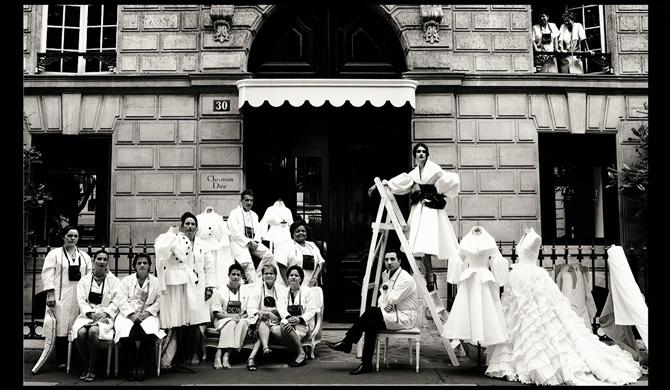 Фотовыставка Dior Couture by Patrick Demarchelier