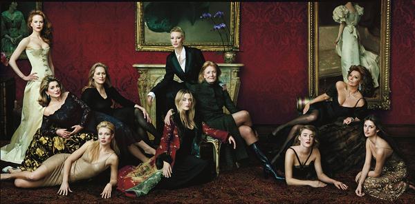 фотограф: Annie Leibovitz, групповой портрет для Vanity Fair