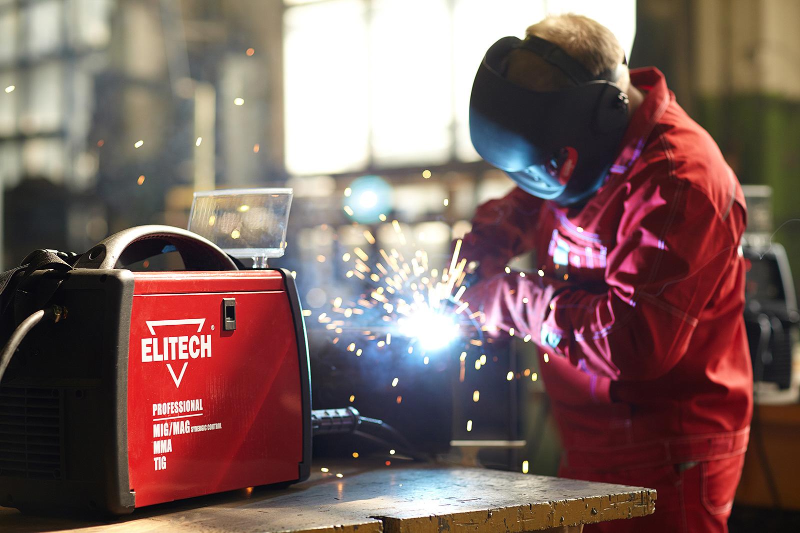 Elitech: фотосъемка продакт-плейсмент на производстве