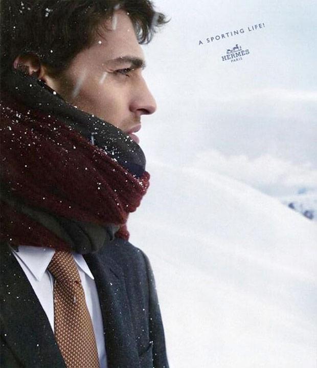 Выразительные зимние портреты