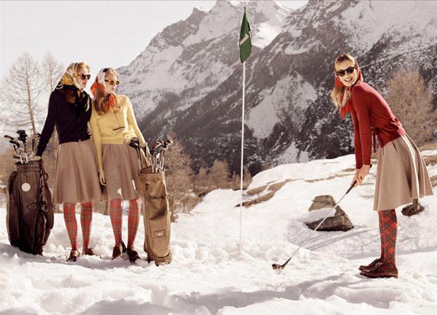 Фотосессия зимой на улице