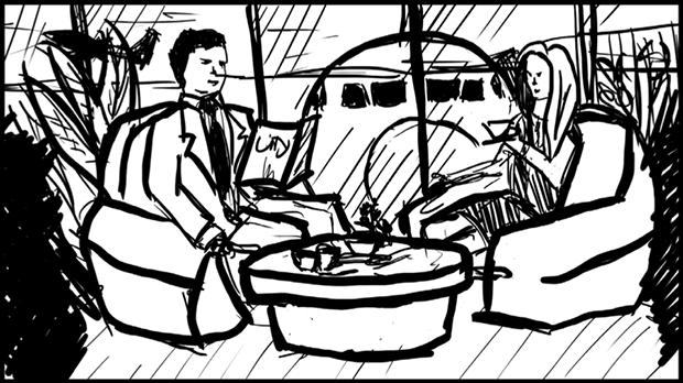 Скетч к истории Путешествуй