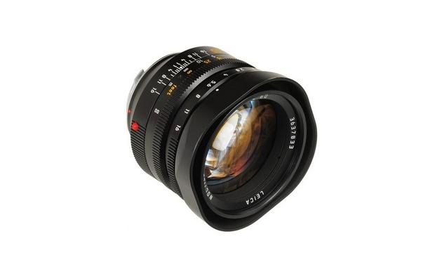 Асферический объектив Leica Noctilux-M 50мм F/0.95