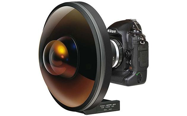 Объектив Nikkor 6 мм F/2.8: Рыбий глаз