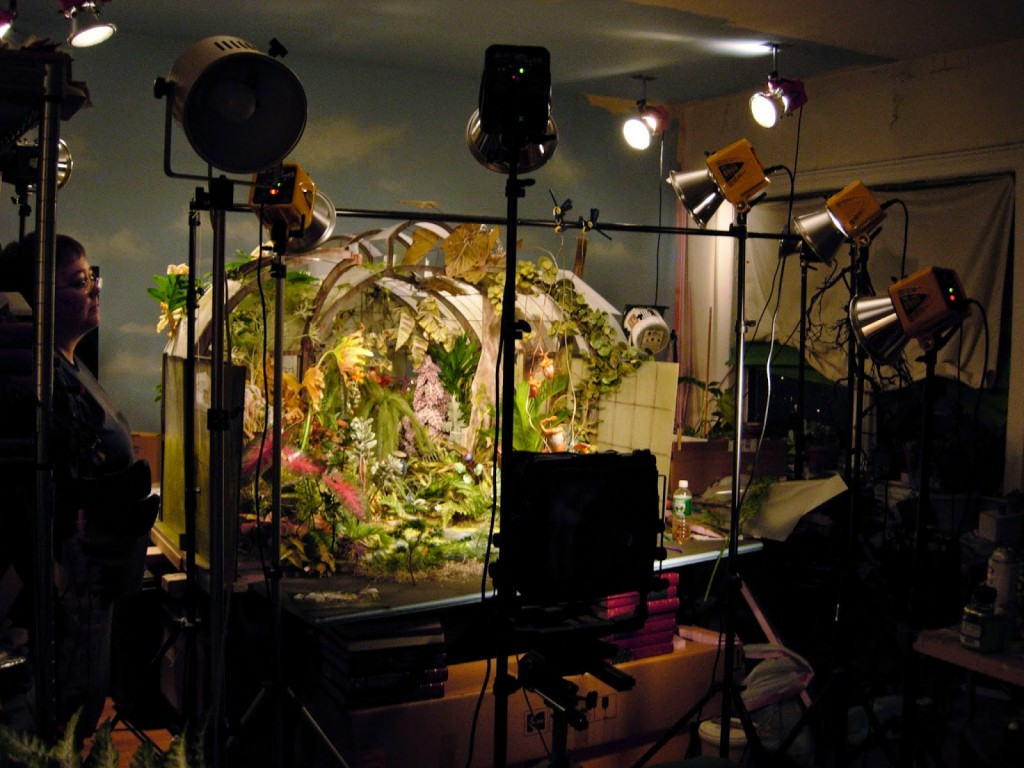 Лори Никс и ее инсталляция Ботанический сад
