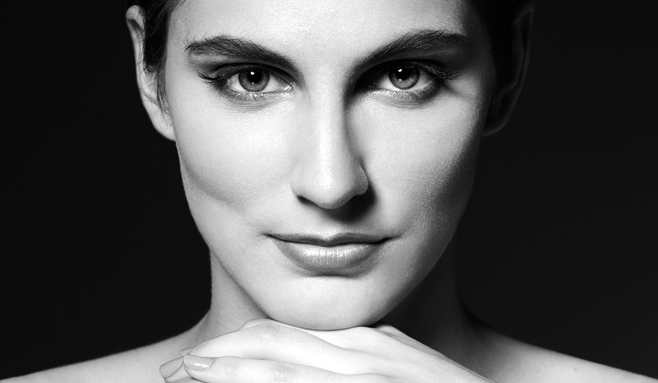 Черно-белый портрет и модельные тесты. Анна (FC Models)