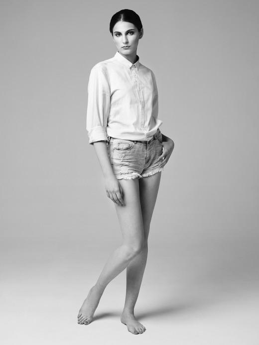 Модельные тесты. Анна (FC Models), фотограф: Александр Сакулин