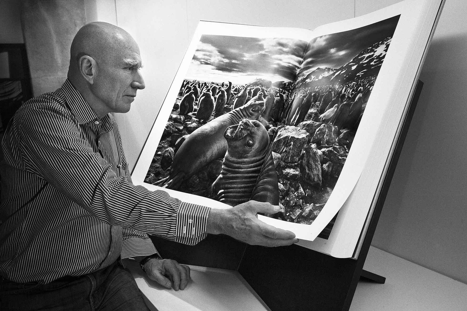 Фотограф Себастьян Сальгадо с авторским альбомом Генезис