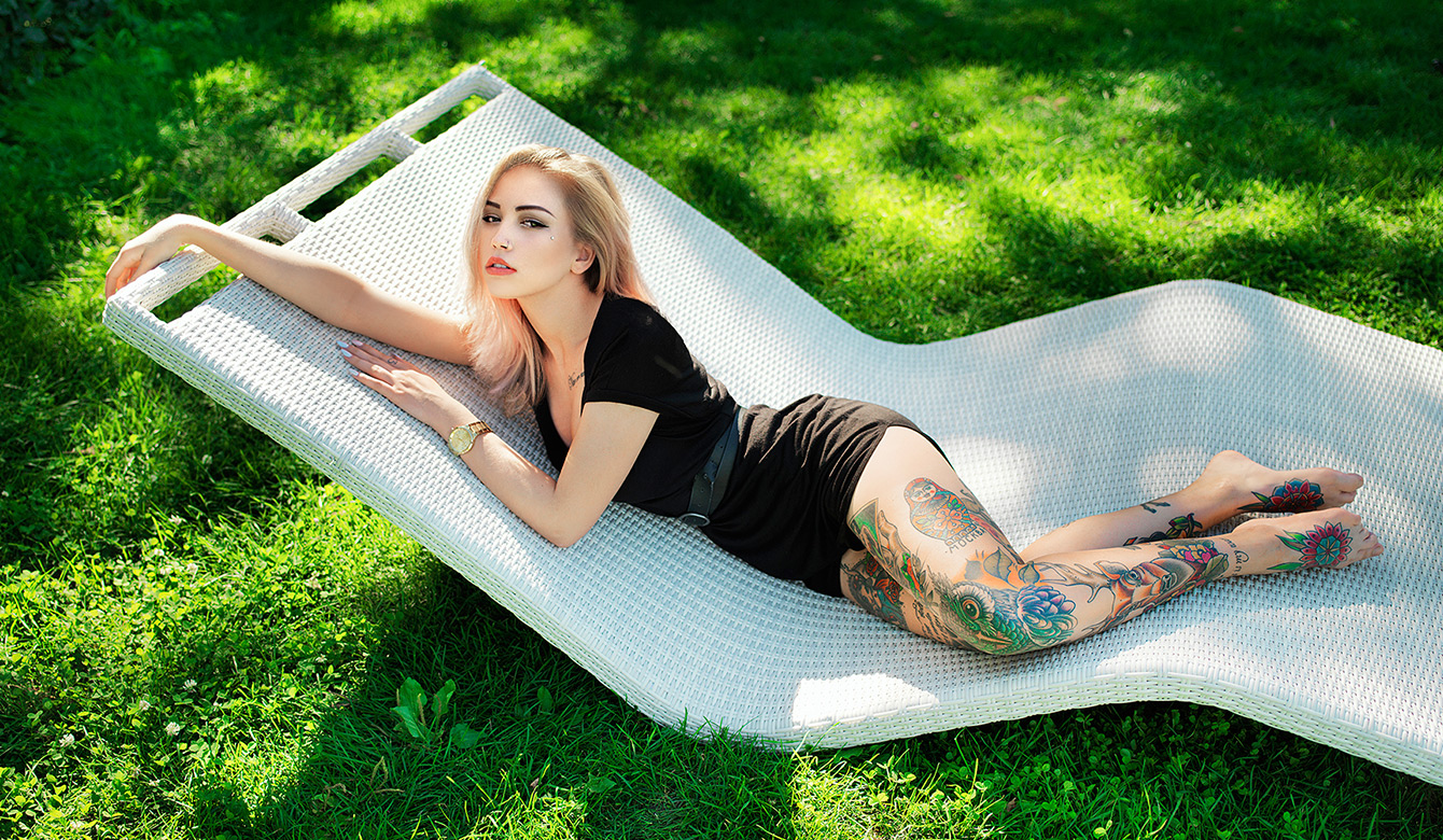 Летняя съемка в парке. Модель: Алана (zombiemodel)