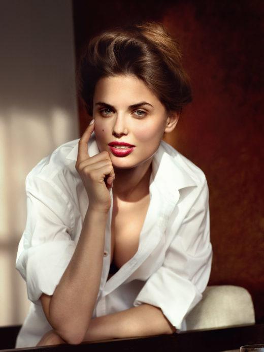 Стильный женский портрет. Фотограф Александр Сакулин