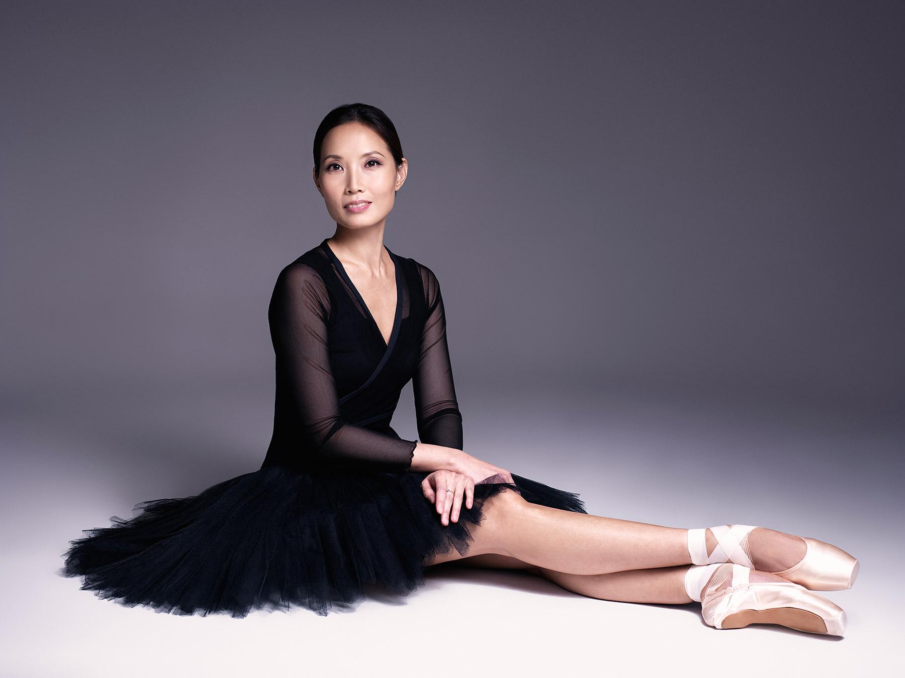 Джу Юн Бэ, балерина Большого театра. Фотограф: Александр Сакулин