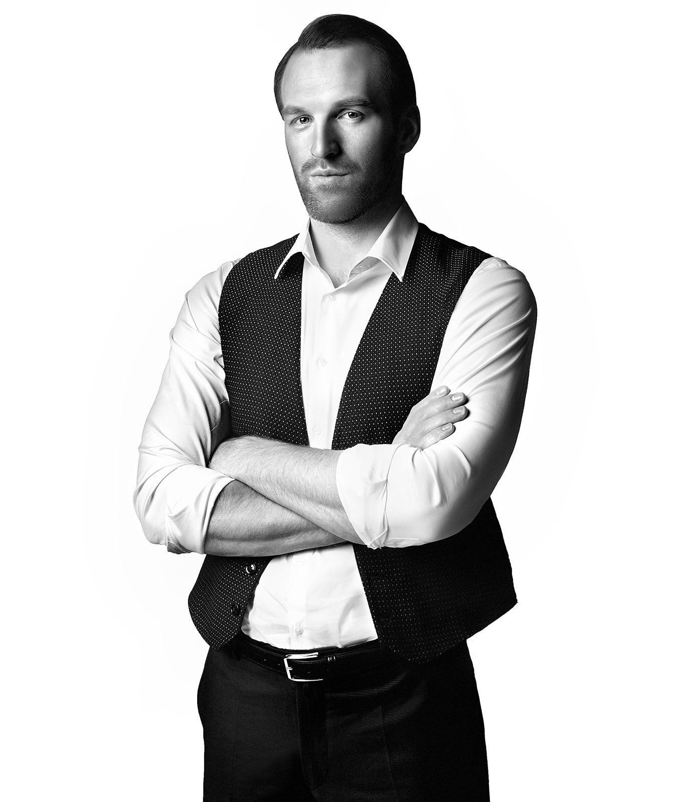 Актер Константин Самоуков; фотограф: Александр Сакулин