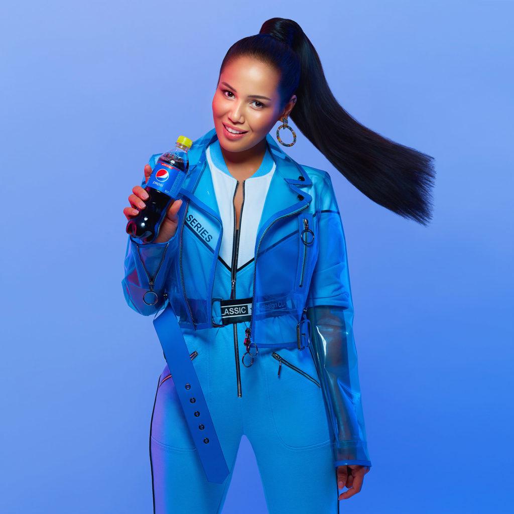 Рекламная кампания PEPSI с НАZИМА (Black Star Label). Фотограф: Александр Сакулин